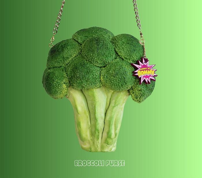 torebki jedzenie brokuł