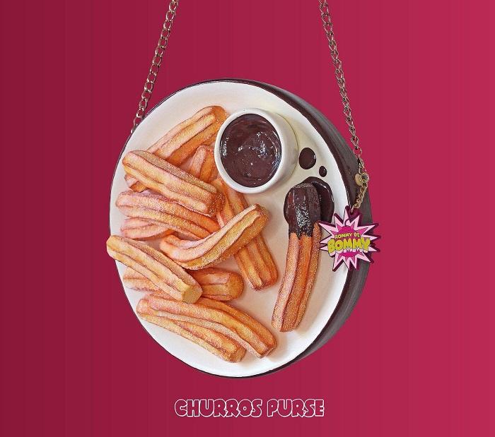 torebki jedzenie churros