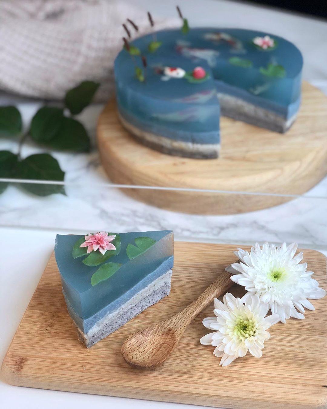 transparentne ciasto jeziorko 3