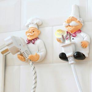 wieszak na kabel kucharz