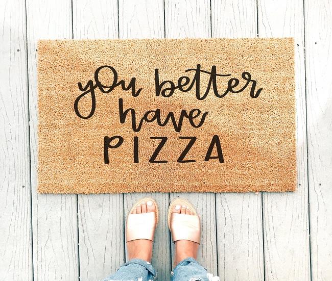 wycieraczka pizza