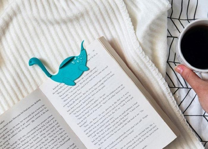 Zakładka do książki potwór Nessie by OTOTO