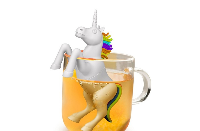 Zaparzaczka do herbaty jednorożec