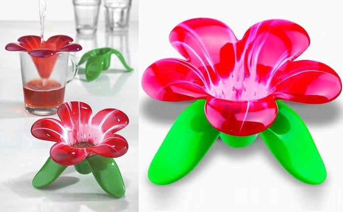 Zaparzacz do herbaty kwiatek Audrey Murano marki Koziol