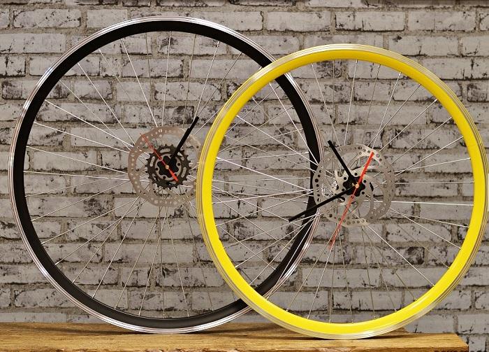 zegar koło rowerowe
