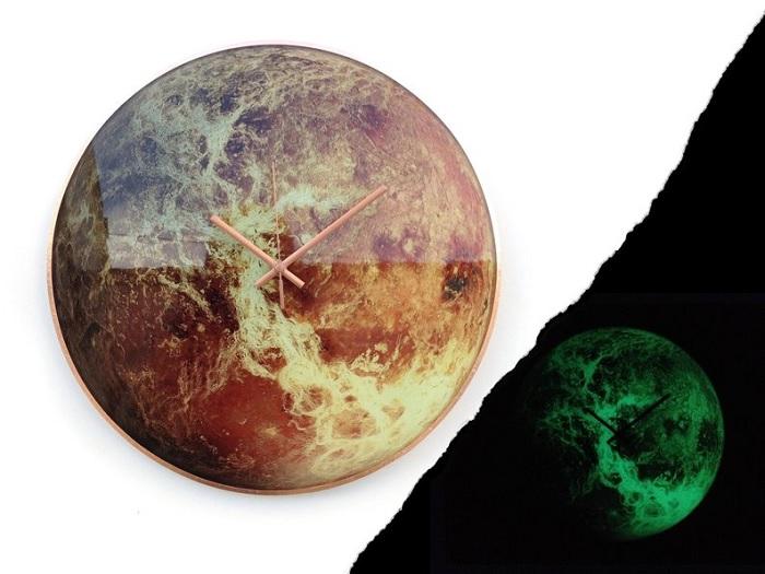 zegar planeta 4