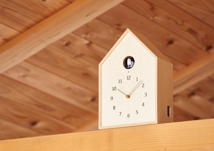 Zegar z kukułką budka Birdhouse marki Lemnos