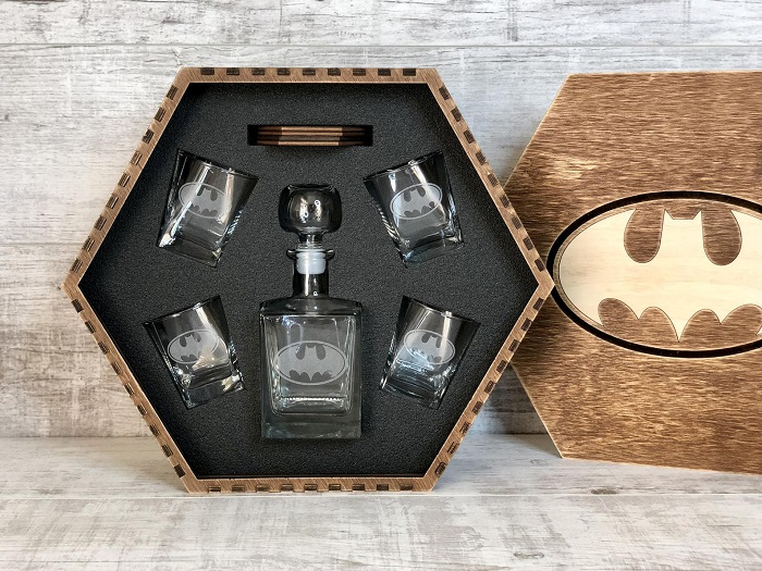 zestaw do alkoholu batman