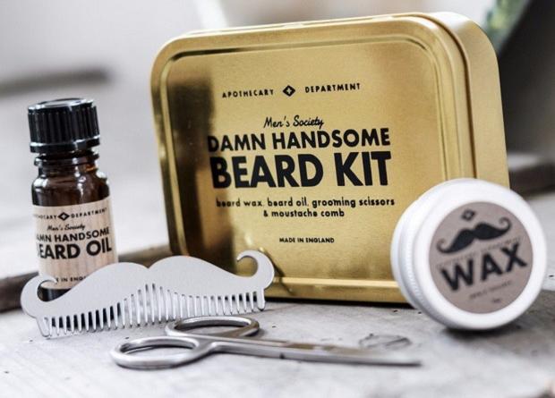 Zestaw do pielęgnacji brody by Men's Society