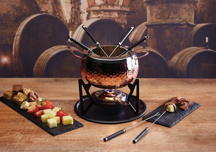 Elegancki zestaw do fondue Kitchen Craft
