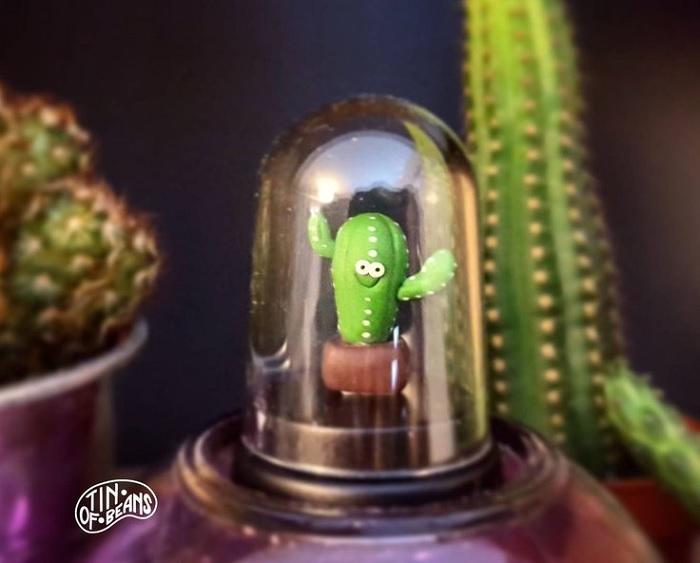 zwierzatko kaktus